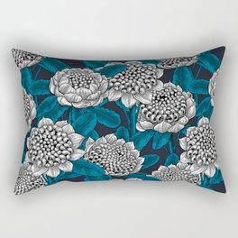 White waratah flowers Rectangular Pillow