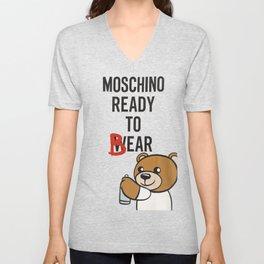 Moschino ready to bear Unisex V-Neck