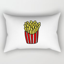 French Fries Rectangular Pillow