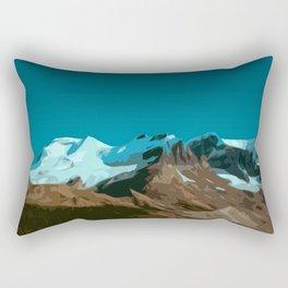 Mountain TT Rectangular Pillow