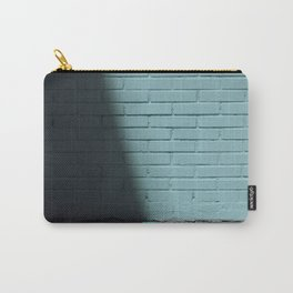Blue and shady cube Carry-All Pouch