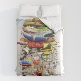 Burger Life Comforters