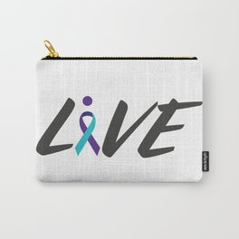 Live suicide prevention awarness Carry-All Pouch