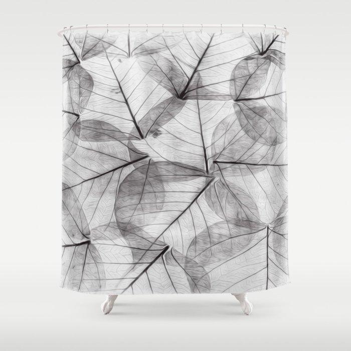 Autumn V Shower Curtain