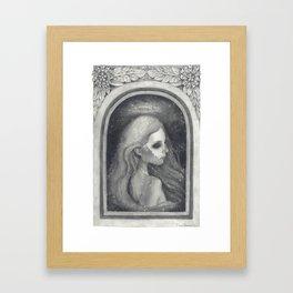 You Never Died Framed Art Print