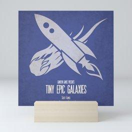 Tiny Epic Galaxies - Minimalist Board Games 14 Mini Art Print