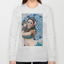 Barbara Oshun Belly Dancer Long Sleeve T-shirt