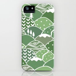 Rolling Green Hills iPhone Case