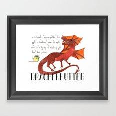 Drachenfutter Framed Art Print