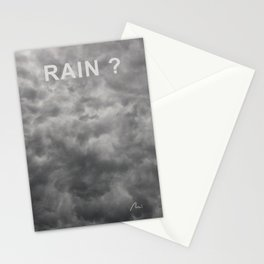 Rain? Stationery Cards