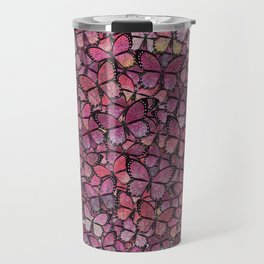 pink Veronica butterflies aflutter Travel Mug