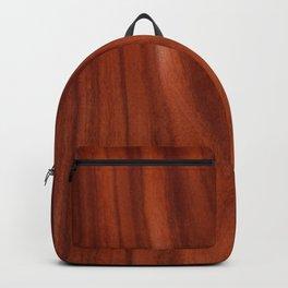 Beautiful red wood design Backpack