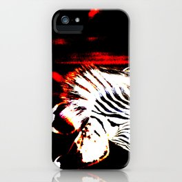 Abstract Zebra No. 3 iPhone Case
