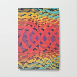 Interweaving Impulses // 101a Metal Print