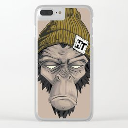 Monkey HT Clear iPhone Case