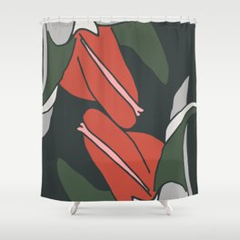 Bellflowers in Colors Shower Curtain