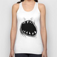 monster Tank Tops featuring monster by Кaterina Кalinich