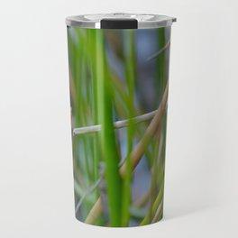 Slender Tree Frog Croaking Travel Mug