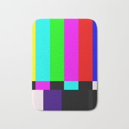 No Signal TV Bath Mat