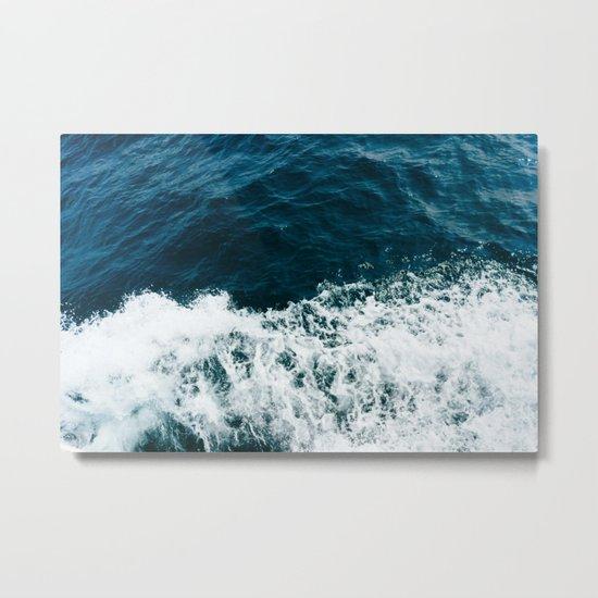Ocean Crush Metal Print