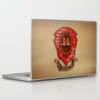 gryffindor Laptop & iPad Skins featuring Gryffindor shield emblem by JanaProject