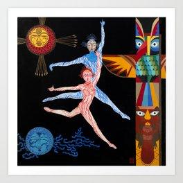 CDS5 Blue Moon Art Print