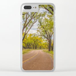 Cottonwoods, Theodore Roosevelt NP, ND 4 Clear iPhone Case