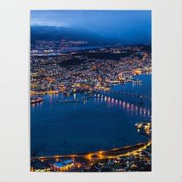 Panoramic Tromso Poster