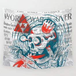 Speak No Evil by Handsome Lad Wall Tapestry