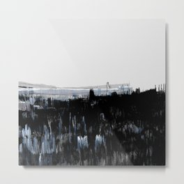 Tokyo in the Ice Age no. 1 Metal Print