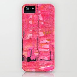 Love and Death iPhone Case