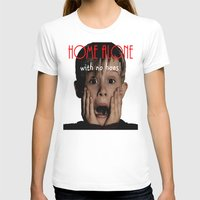 home alone T-shirts featuring Home Alone by Darius Malone
