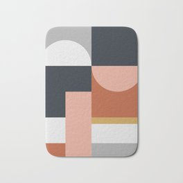 Abstract Geometric 09 Bath Mat