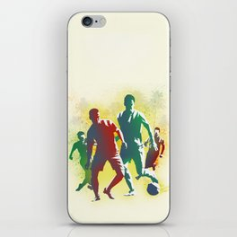 Football is more than a game iPhone Skin