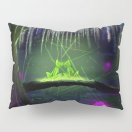 Frogs on a log Pillow Sham