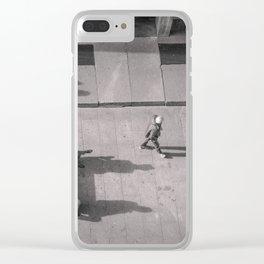 Milano Rua Clear iPhone Case