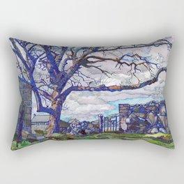 third time's the charm Rectangular Pillow