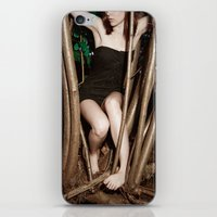 nicolas cage iPhone & iPod Skins featuring Nicolas Caged I by Linas Vaitonis