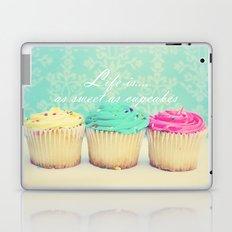 Life is as Sweet as Cupcakes Laptop & iPad Skin