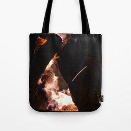 Camp Fire Tote Bag
