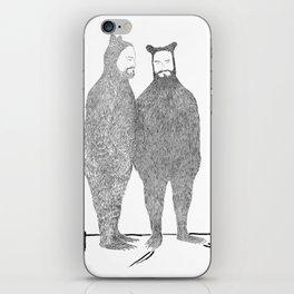 Two Bears Get Married iPhone Skin