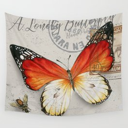 Vintage Butterfly Wall Tapestry