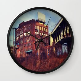 Old Town Cleveland Wall Clock