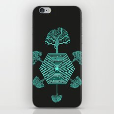 Natural Maze iPhone & iPod Skin