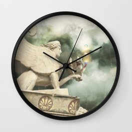 Baudelaire  Wall Clock