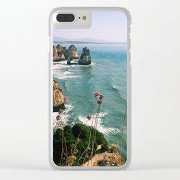 Algarve coast Clear iPhone Case