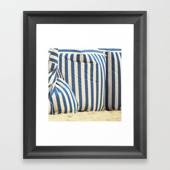 In The Beach Framed Art Print