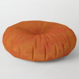 concrete orange brown copper plain texture Floor Pillow