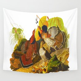 Ruffed Grouse Bird Wall Tapestry