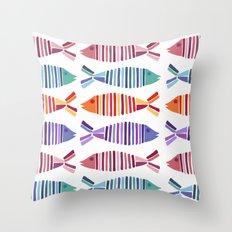 Sardines Throw Pillow